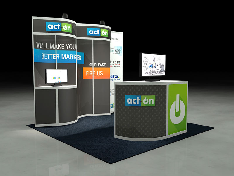 Act-On 2014 Microsoft Convergence Booth Pre-Visualization