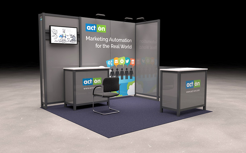 Act-On 2015 Microsoft Convergence Booth Pre-Visualization