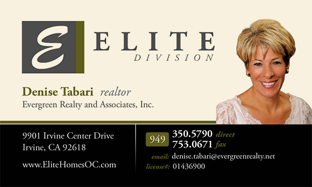 Elite Division Business Card